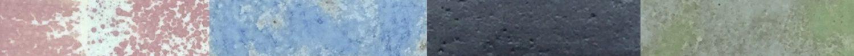 détail des couleurs d'émail de Nicolas Davio
